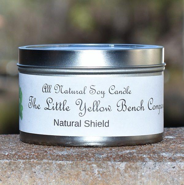 Natural Shield Candles keep the bugs away