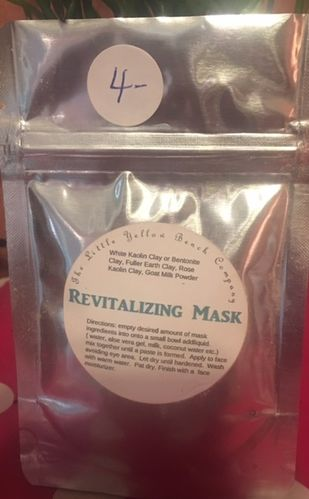 Revitalizing Facial Mask