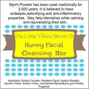 Honey Facial Cleansing Bar