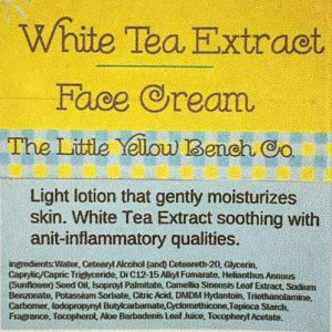 White Tea Extract Facial Cream