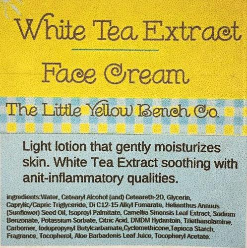 White Tea Extract Facial Cream